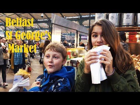 Northern Ireland Trip - Belfast St George's Market