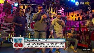 Los Raperos Maxi F.A, MP3, Yayi Rap y El Melly - #ExperienciaUTCQ