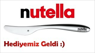 Nutella Kargo Açılışı - Kampanya Hediyesi