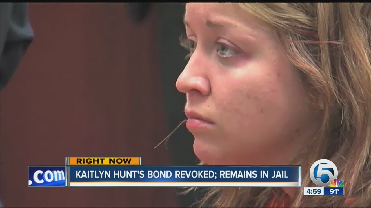 Kaitlyn Hunt Pleads Guilty, Gets Jail Time