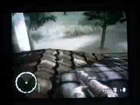 Medal of honor heroes 2 wii: Monastary 2nd  roof glitch
