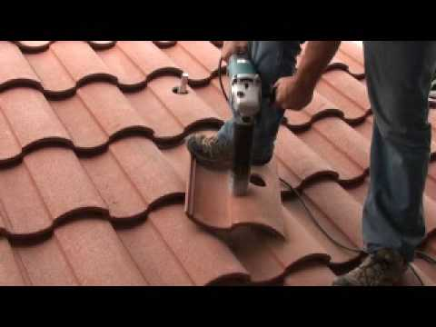 VERDE INDUSTRIES CORE DRILL ROOF TILE