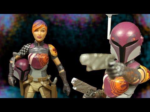 Star Wars Black Series 6 Inch Sabine Wren Action Figure Review