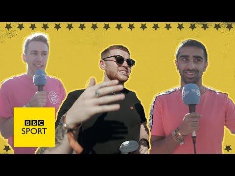 Sidemen - Miniminter, Vikkstar123 & Behzinga react to KSI v Logan Paul weigh-in drama | BBC Sport