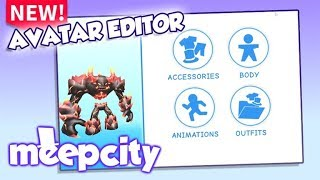 NEW AVATAR UPDATE!   Roblox Meepcity
