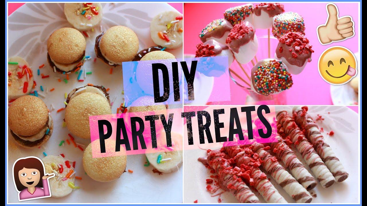 DIY: Вкусняшки Для Вечеринок//PARTY TREATS