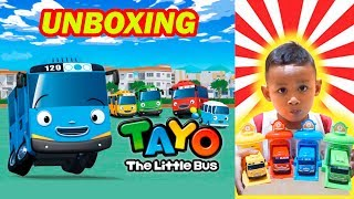 Unboxing Mainan Bus Tayo Garasi Indonesia | Mainan Anak Laki-laki