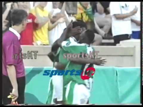 KANU GOAL VS BRAZIL ATLANTA 1996 OLYMPICS