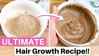 The Ultimate Hair Growth Recipe using Fenugreek and Amla! DIY HERBAL TREATMENT