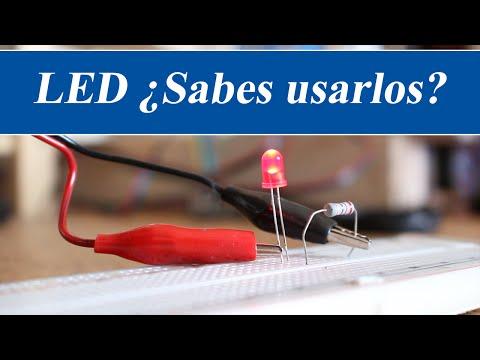 LED como usarlos - Electrónica básica