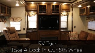 RV Tour   Take A Look In Our 5th Wheel