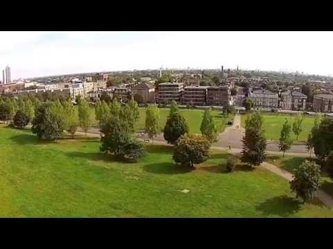 Finsbury Park - London - aerial , DJI