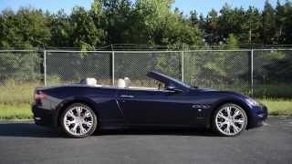 2011 Maserati Grancabrio Videos
