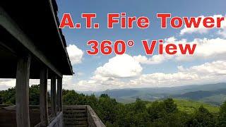 Rich Mountain Fire Tower Appalachian Trail Hot Springs NC