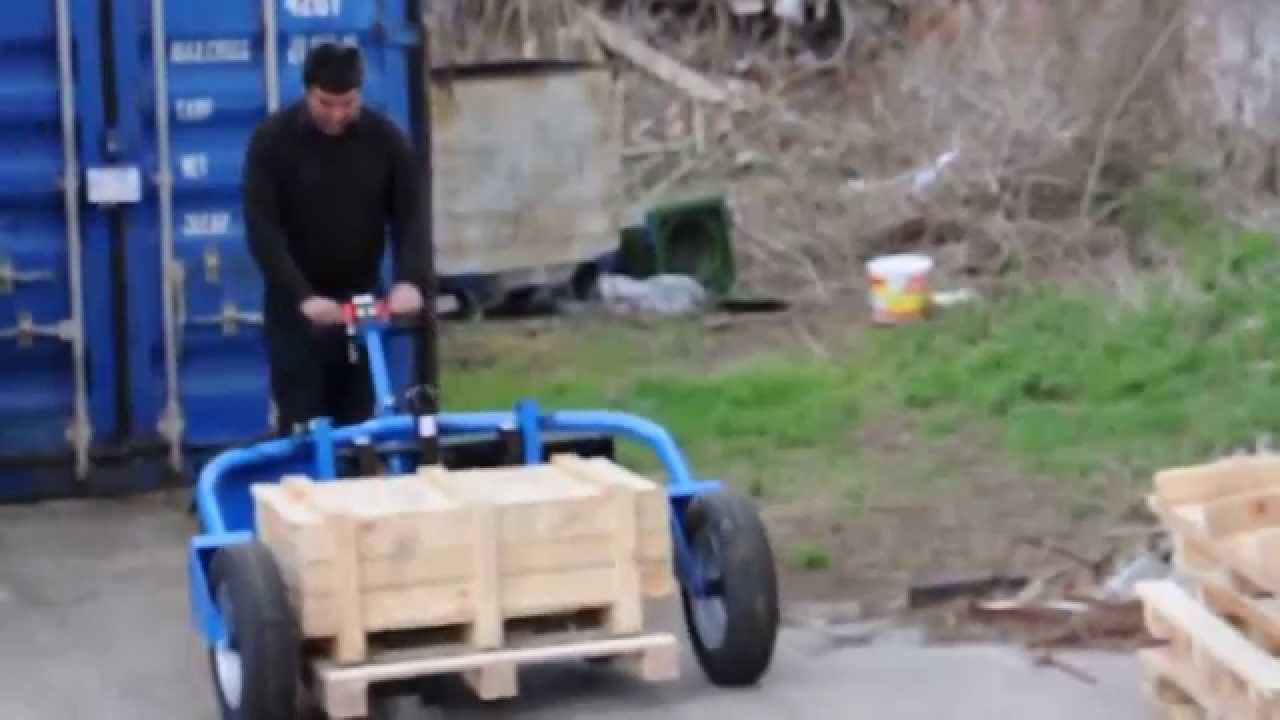 Warrior Self Propelled Rough Terrain Pallet Truck Youtube