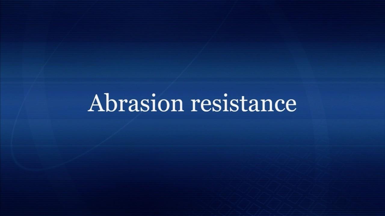 Fine Ceramics Characteristics Video Abrasion Resistance Youtube
