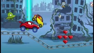 Car Eats Car: 4 Game Level 1- 4 Walkthrough | Kids Games