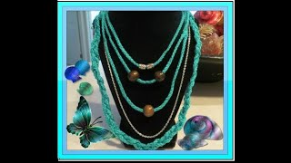 ?5?? Piece layered ? necklace with?? optional ? choker(ONE OF MY OLDER DIY VIDEOS )