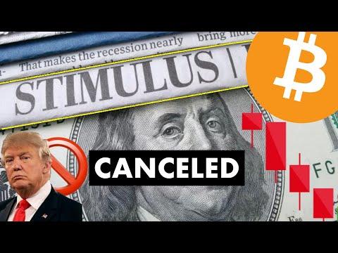 STIMULUS CANCELED ???? INSANE NEWS FOR #CRYPTO U0026 #BITCOIN