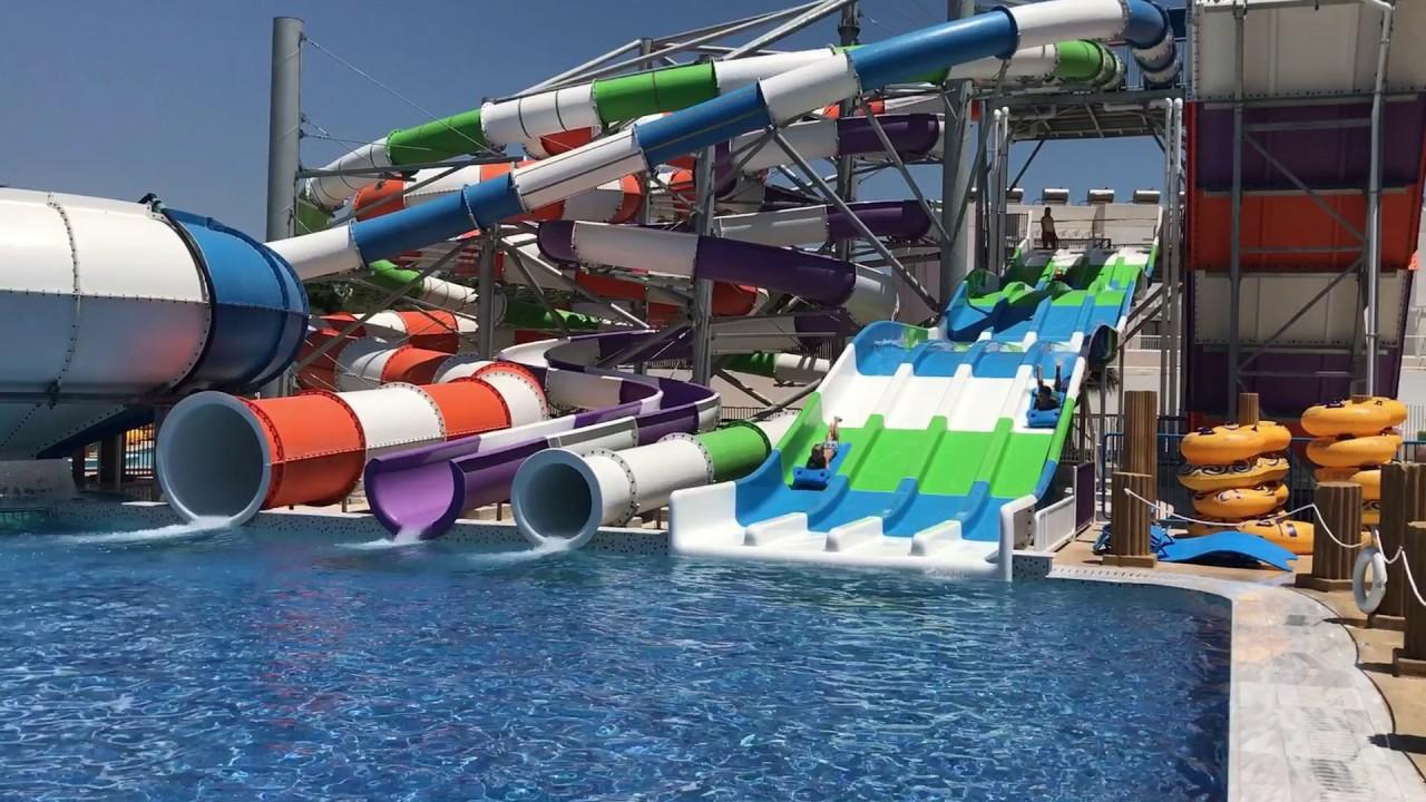Tofinis Hotel Amp Splash World Ayia Napa Cyprus Youtube