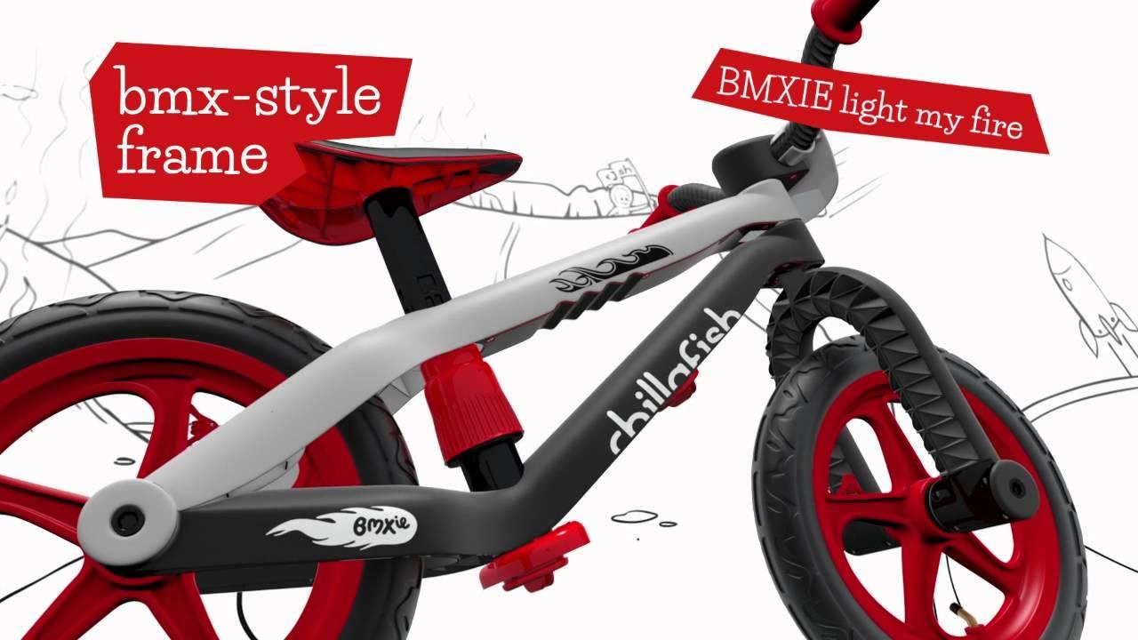 Трюковый беговел велобег Chillafish BMXie - выставка в Нью Йорке .