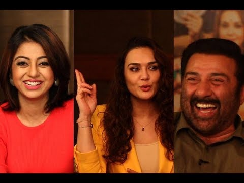 Sunny Deol and Preity Zinta on dhai kilo ka hath with Atika Farooqui | Interview |  Bhaiaji Superhit