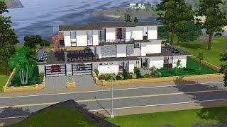 Sims 3 - Grande maison de rêve moderne LOFT Monaco