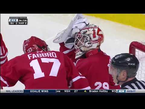 Boston University vs. Harvard - Beanpot Highlights - 02/05/2018