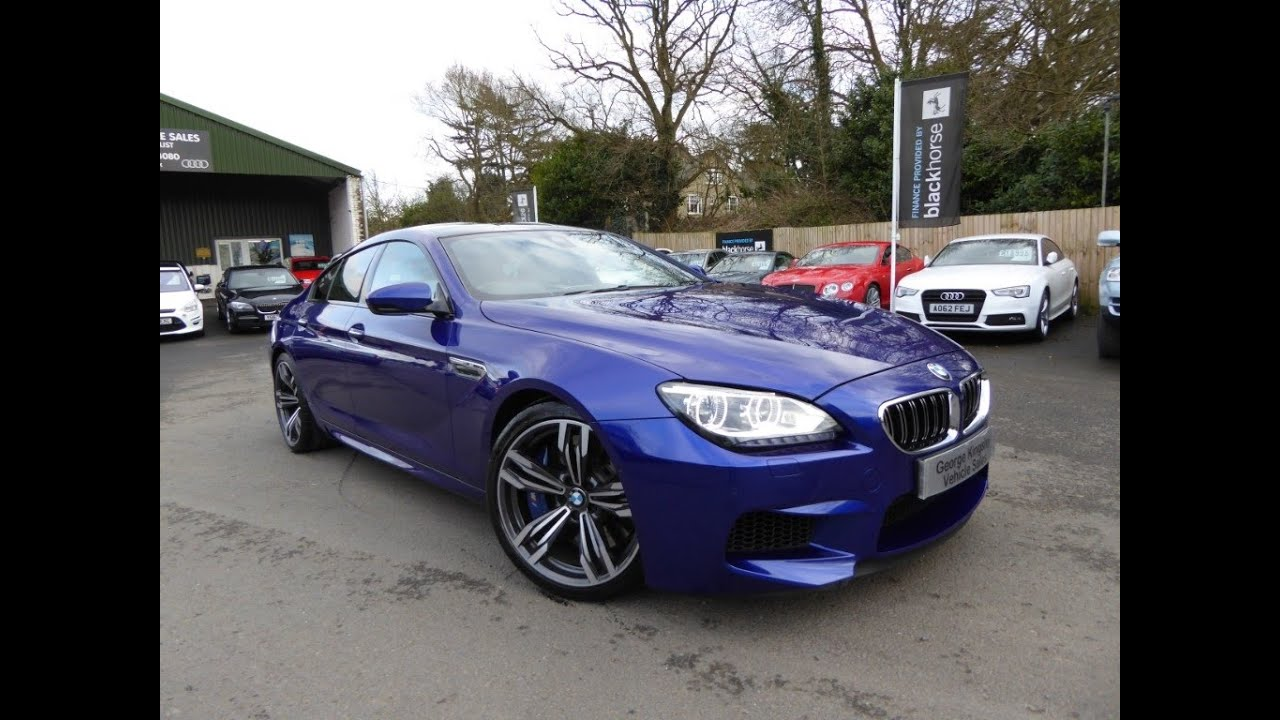 2014 Bmw M6 Rebuilt Salvage For Sale: 2014 BMW M6 Gran Coupe For Sale At George Kingsley Vehicle