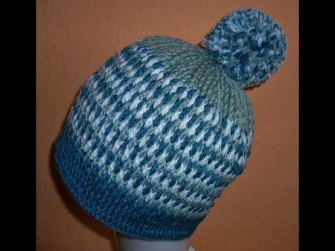 Wintermütze Polar Teil 1 - häkeln - crochet - Mütze - Haube - YouTube