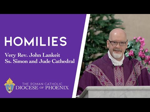 Fr. Lankeit's Homily for Dec. 8, 2019 — Second Sunday of Advent