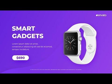 Product Video Advertisement Slideshow