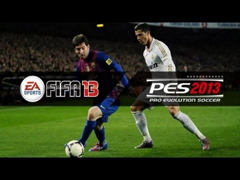 PES 2013 Vs FIFA 13 | First Gameplay Trailer Comparison