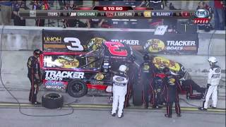 Ryan Blaney and Kyle Larson Big Crash - 2012 NASCAR Camping World Truck Series in Homestad