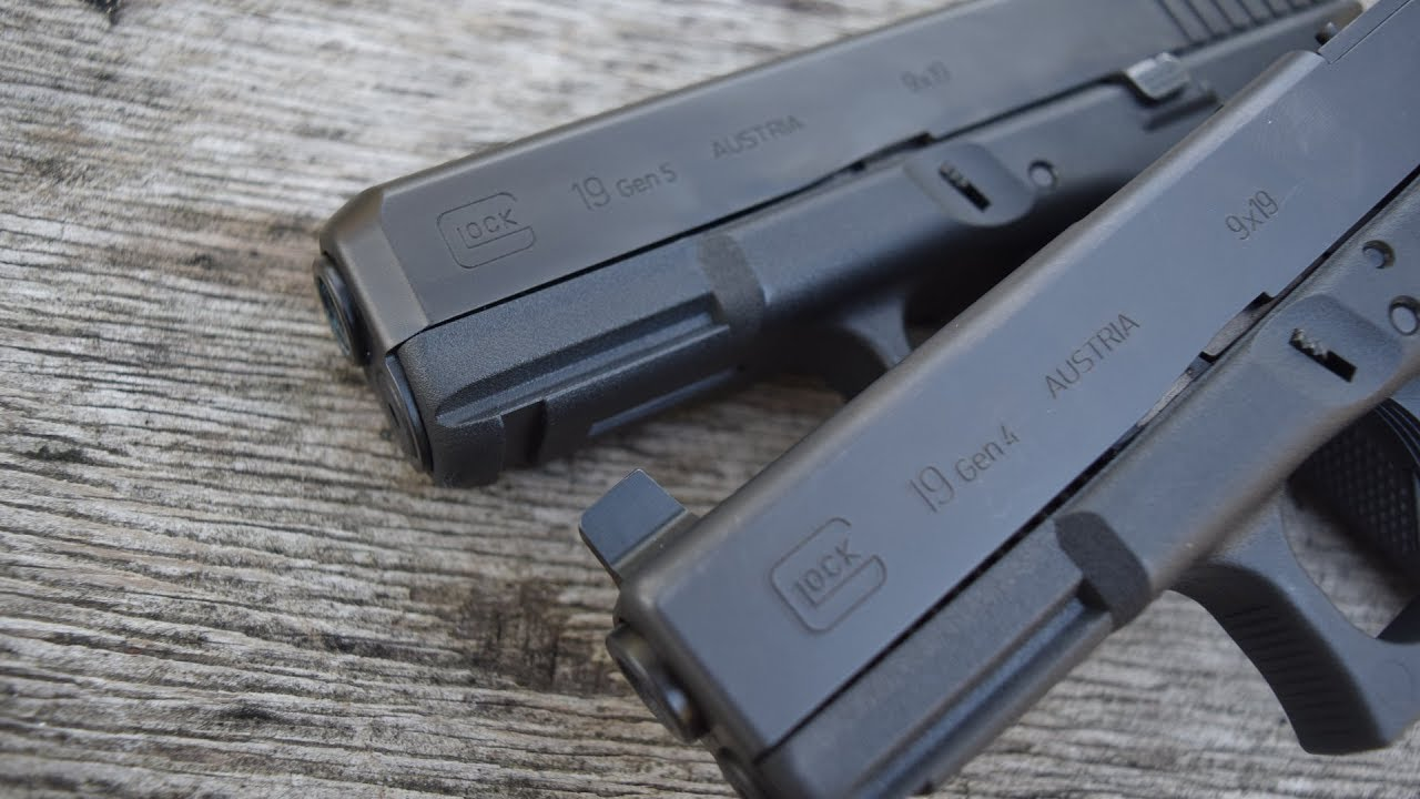 Is The Gen 5 Glock Worth Upgrading To Gen 4 Vs Gen 5 Youtube