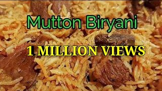 Original Muslim Mutton Biryani 1kg