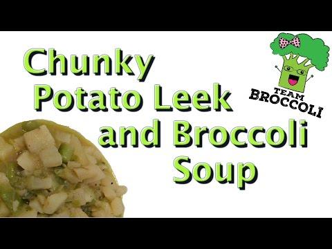 Ep:369 Chunky Potato Leek And Broccoli Soup | Vegan