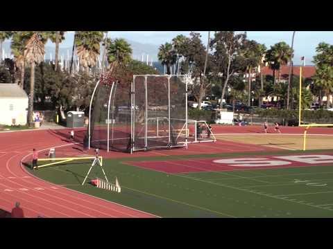 2018 Santa Barbara Easter Relays Boys 4x400 Meter Relay Varsity 2 Heats