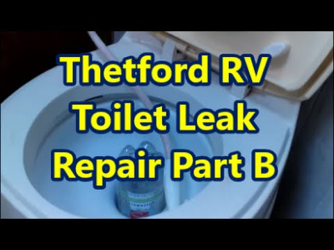 thetford rv toilet repair part b youtube. Black Bedroom Furniture Sets. Home Design Ideas