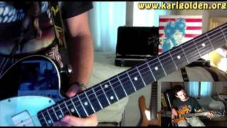 Stairway To Heaven - Guitar Solo - Video Lesson & Backing Track (Played Slow)