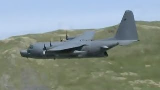MC-130 and C-130J low level Mach Loop 3rd May 2011