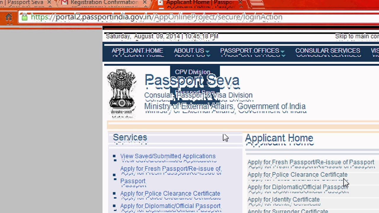 How to apply passport online in india easily latest version youtube falaconquin