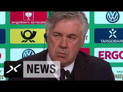 "Carlo Ancelotti nach Pokal-Aus: ""Es tut uns Leid!"" | FC Bayern München - Borussia Dortmund 2:3"