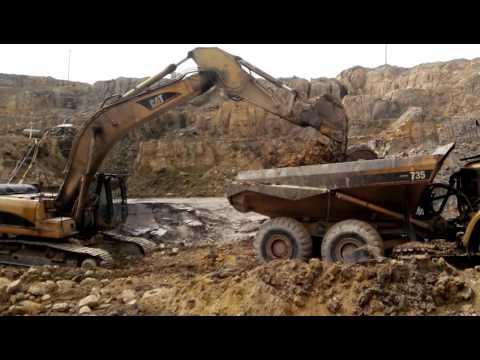 Mining Process , Western Africa