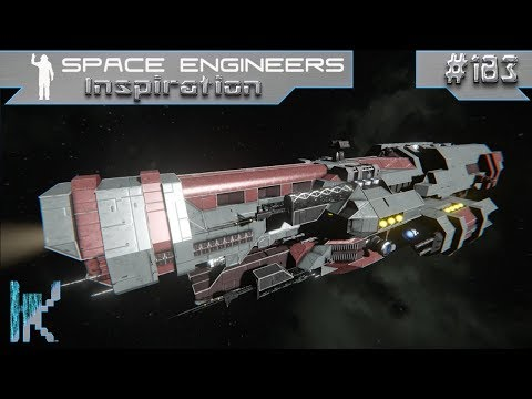 Space Engineers Inspiration - E183: Alcazar Cruiser, SS-01 Personal Station, & Weyland Carrier