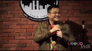 Jason Leong Malaysian Standup Comedian Act