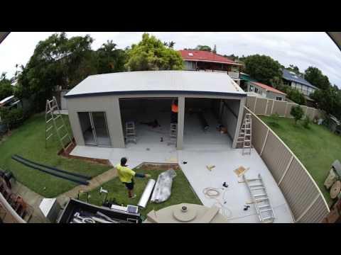 Ranbuild 6 X 9 Shed Build time lapse