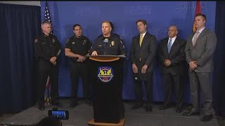 RAW VIDEO: Police briefing about serial killer investigation