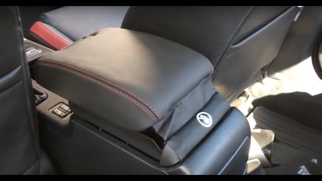 Arm Rest Extenders : Subaru sti arm rest extension install youtube