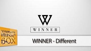 WINNER - Different (Türkçe Altyazılı) [Çevirman's-Box]